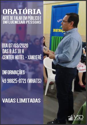 Curso de Oratória mar 2020